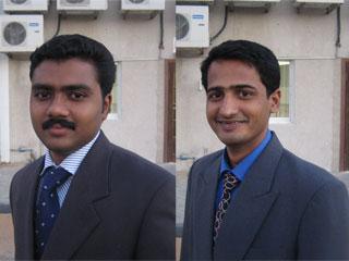 sajeer and vipin