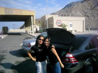 At Oman border