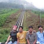 Group picture: Iyad, Nishanth, Sebi and Nygil