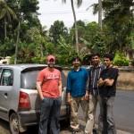 Group picture : Iyad, Nygil, Sebi and Nishanth