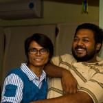 With Sameer Shetye