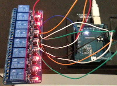 Arduino with Bluetooth 4.0 Shield - iPhone Controlled Relay