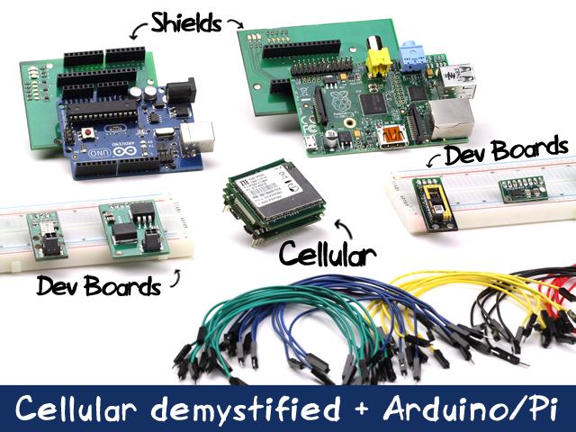 Cellular made easy (Arduino/Pi/+)