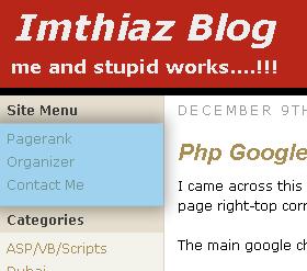 Menu manager for wordpress front screenshot